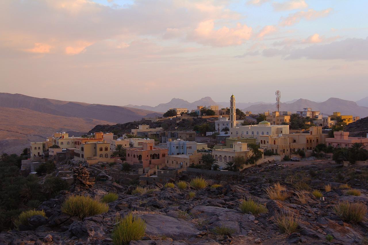 Roadtrip door Oman