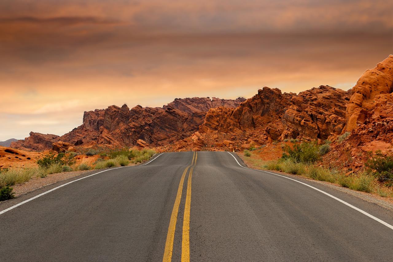 roadtrip door Utah