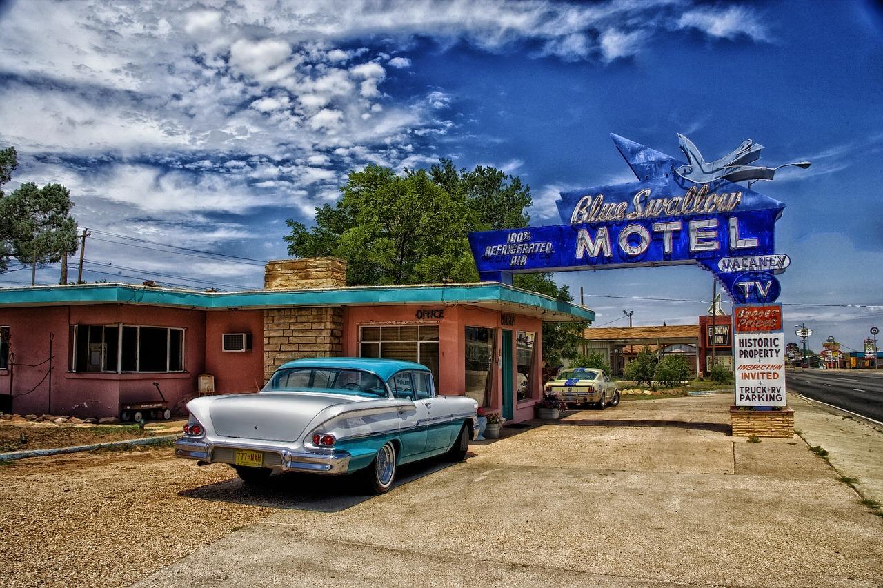 roadtrip door New Mexico