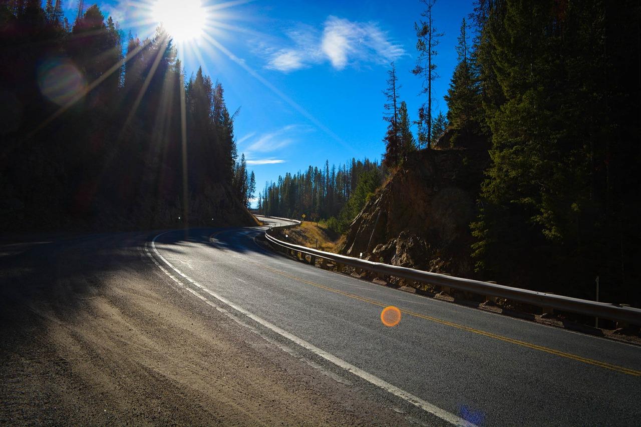 roadtrip door Montana