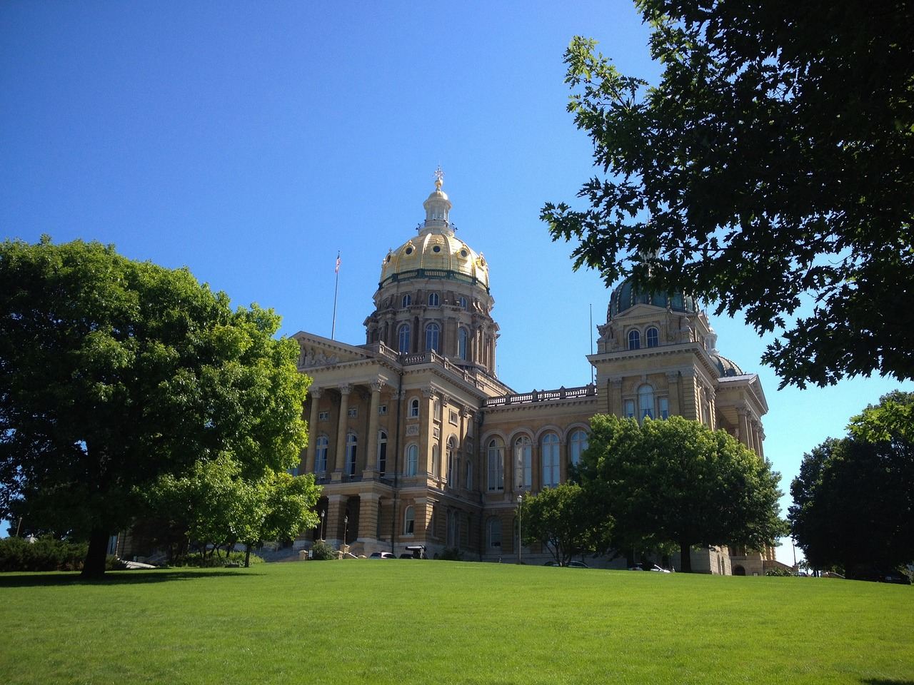 state capitol Des Moines